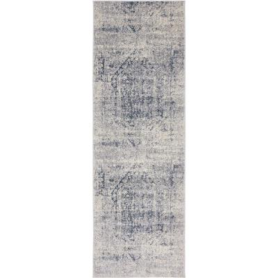 Chateau Quincy Gray 2' 2 x 6' 7 Runner Rug