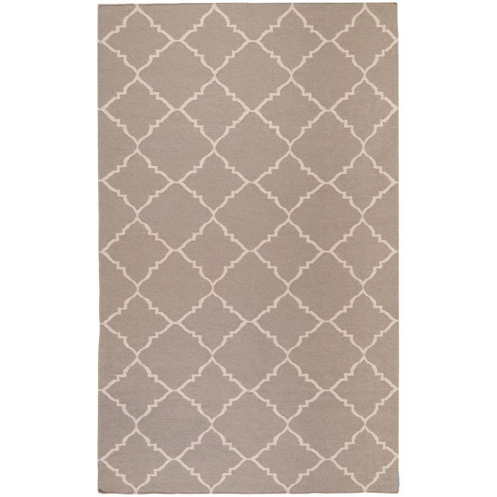Dorado Gray 8 ft. x 11 ft. Flatweave Area Rug