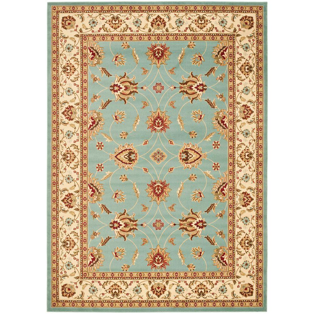Safavieh Lyndhurst Blue Ivory 8 Ft X 11 Ft Area Rug
