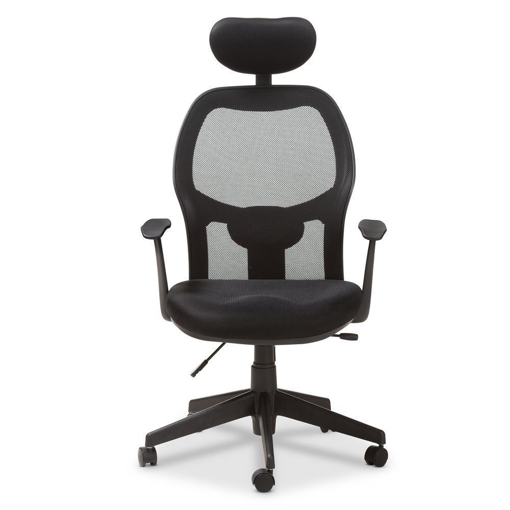 Sebastian Black Office Chair