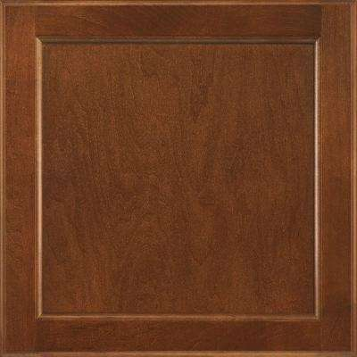 12-7/8x13 in. Cabinet Door Sample in Clearfield Nutmeg