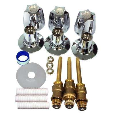 S10-230 Verve 3-Handle Valve Rebuild Kit