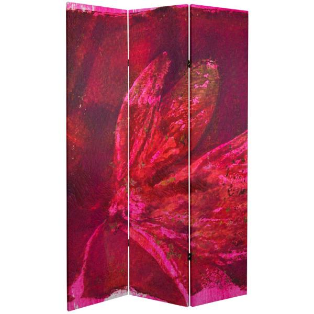 Oriental Furniture 6 ft. Printed 3-Panel Room Divider CAN-GITA19