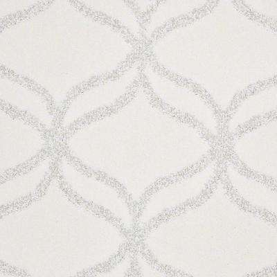 Carpet Sample - Kensington - In Color Snowflake 8 in. x 8 in.