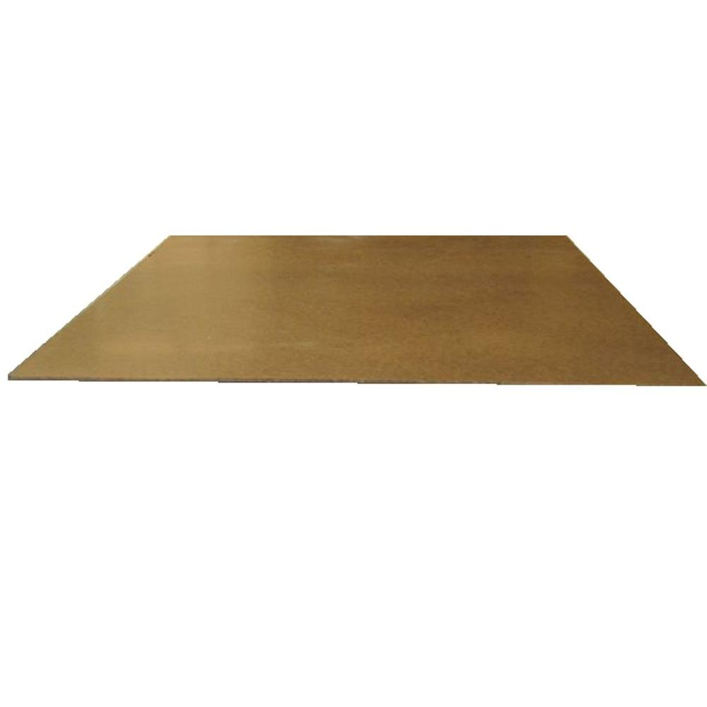 Hardboard Tempered (Common: 1/8 in. x 2 ft. x 4 ft.; Actual: 0.125 in. x 23.75 in. x 47.75 in.)