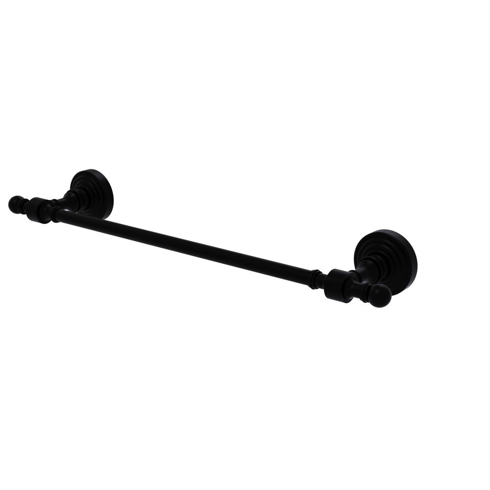 Allied Brass Retro Wave Collection 36 In Towel Bar In