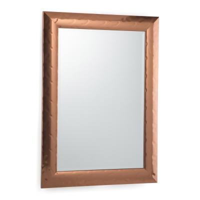 Large Rectangle Copper Contemporary Mirror (42.4 in. H x 30.4 in. W)