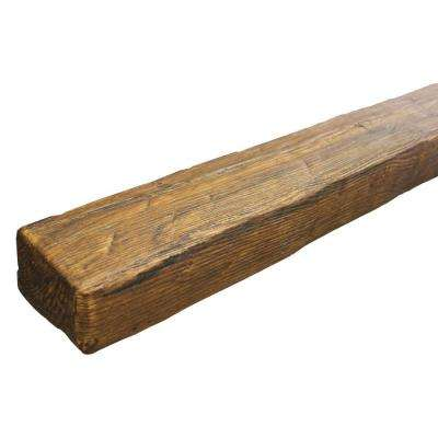 5-1/2 in. x 3-3/4 in. x 11 ft. 6 in. Faux Wood Beam