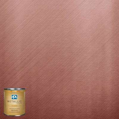 1-qt. MTL142 Sanguine Metallic Interior Specialty Finish Paint