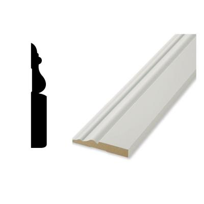 WG 20A 9/16 in. x 3-7/8 in. x 96 in. Finished Elegance Base Moulding