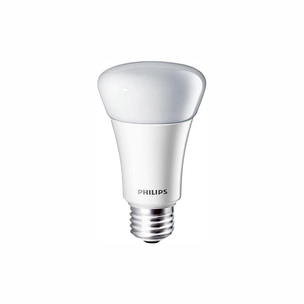 Philips 60-Watt Equivalent A19 Dimmable LED Light Bulb Soft White (2700K)