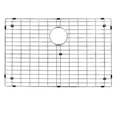 29.875 in. x 16.875 in. Kitchen Sink Bottom Grid