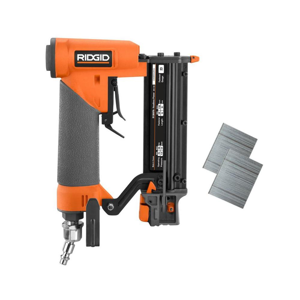 RIDGID 23-Gauge 1-3/8 in. Headless Pinner