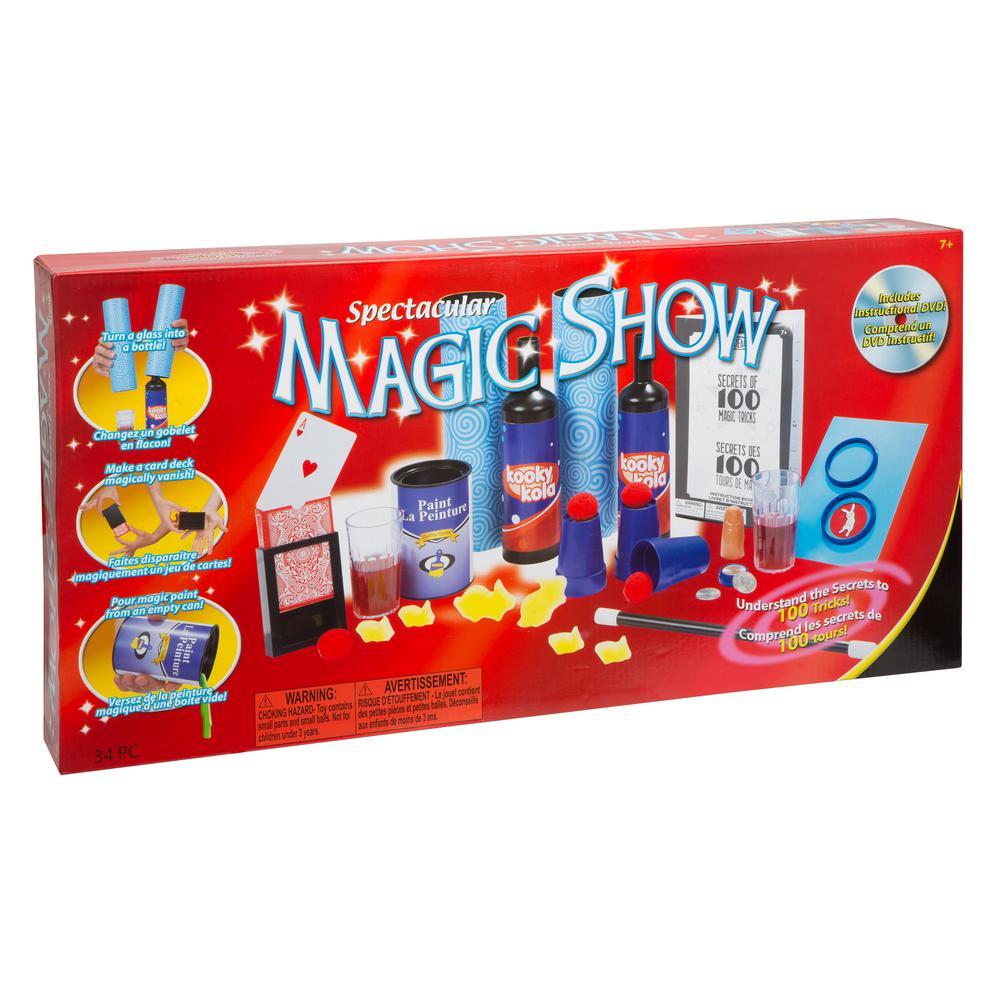 100-Trick Spectacular Magic Show Set