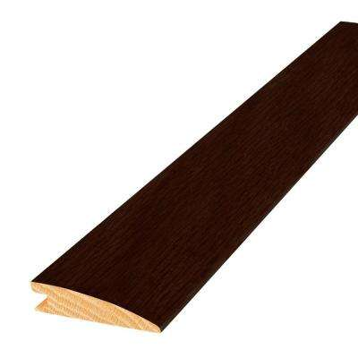 Oak Chocolate 2 in. Wide x 84 in. Length Reducer Molding