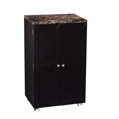 Adaline Painted Black Bar