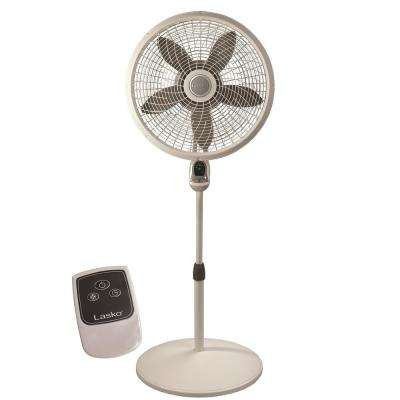 18 in. Remote Control Cyclone Pedestal Fan