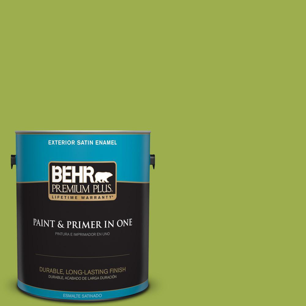 1 gal. #PPU10-05 Intoxication Satin Enamel Exterior Paint