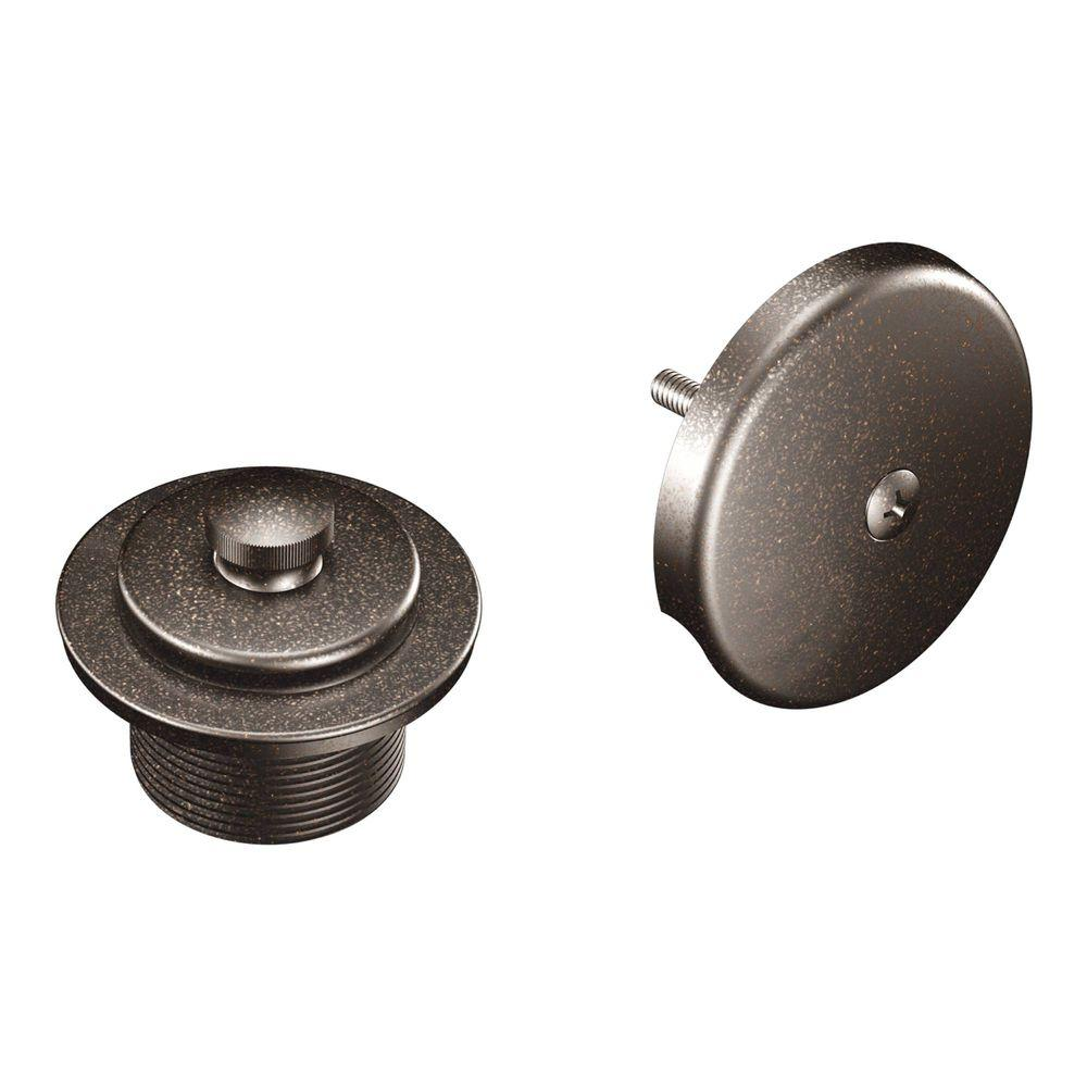 oil rubbed bronze bathtub tub trim drain assembly. moen tub and shower drain covers in oil rubbed bronze bathtub trim assembly