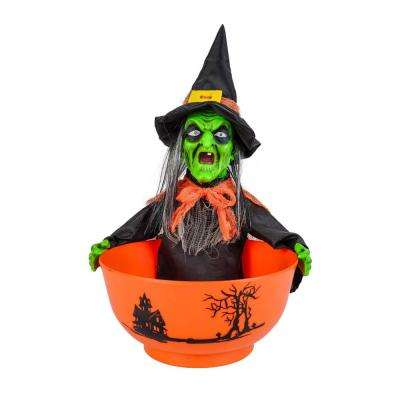 12 in. Witch Candy Bowl