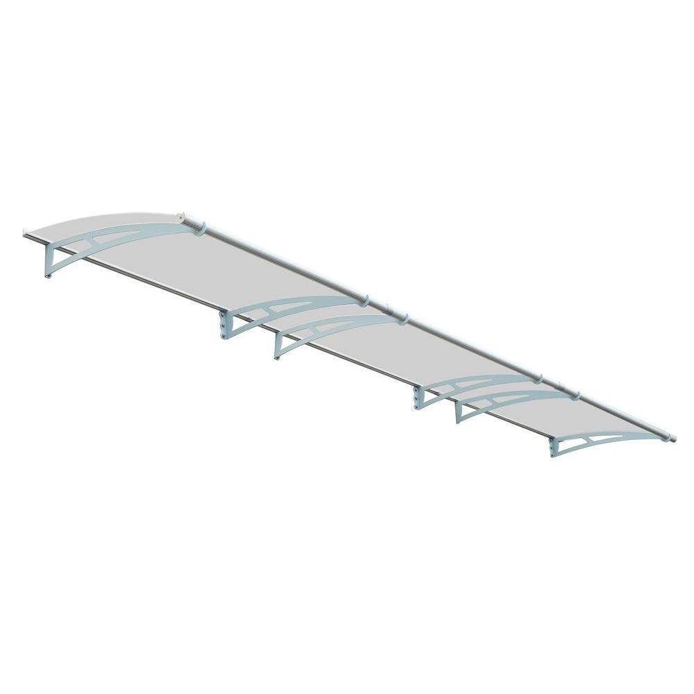 Palram Aquila 4500 Solar Gray Awning, Metallics