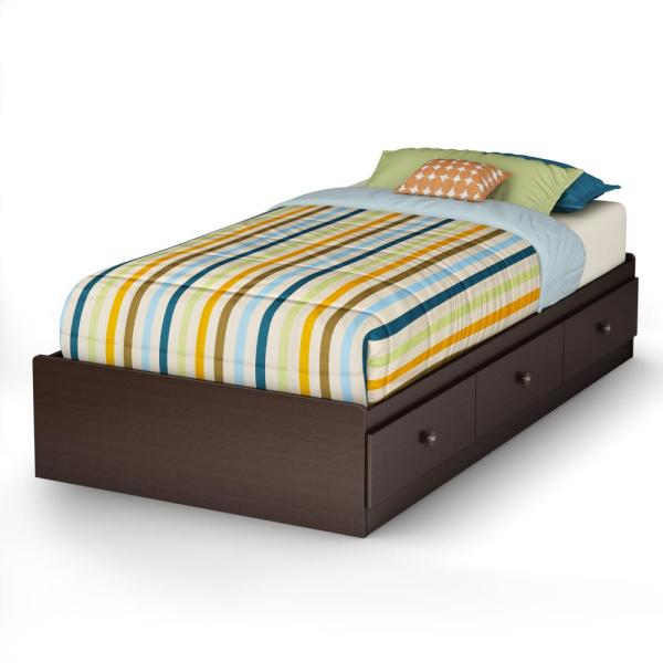 South Shore Zach Twin Storage Bed