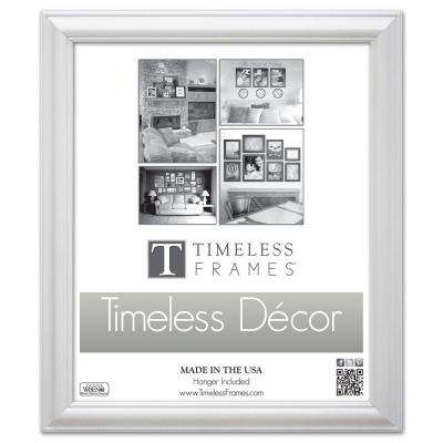 Brenna 1-Opening 16 in. x 20 in. White Picture Frame