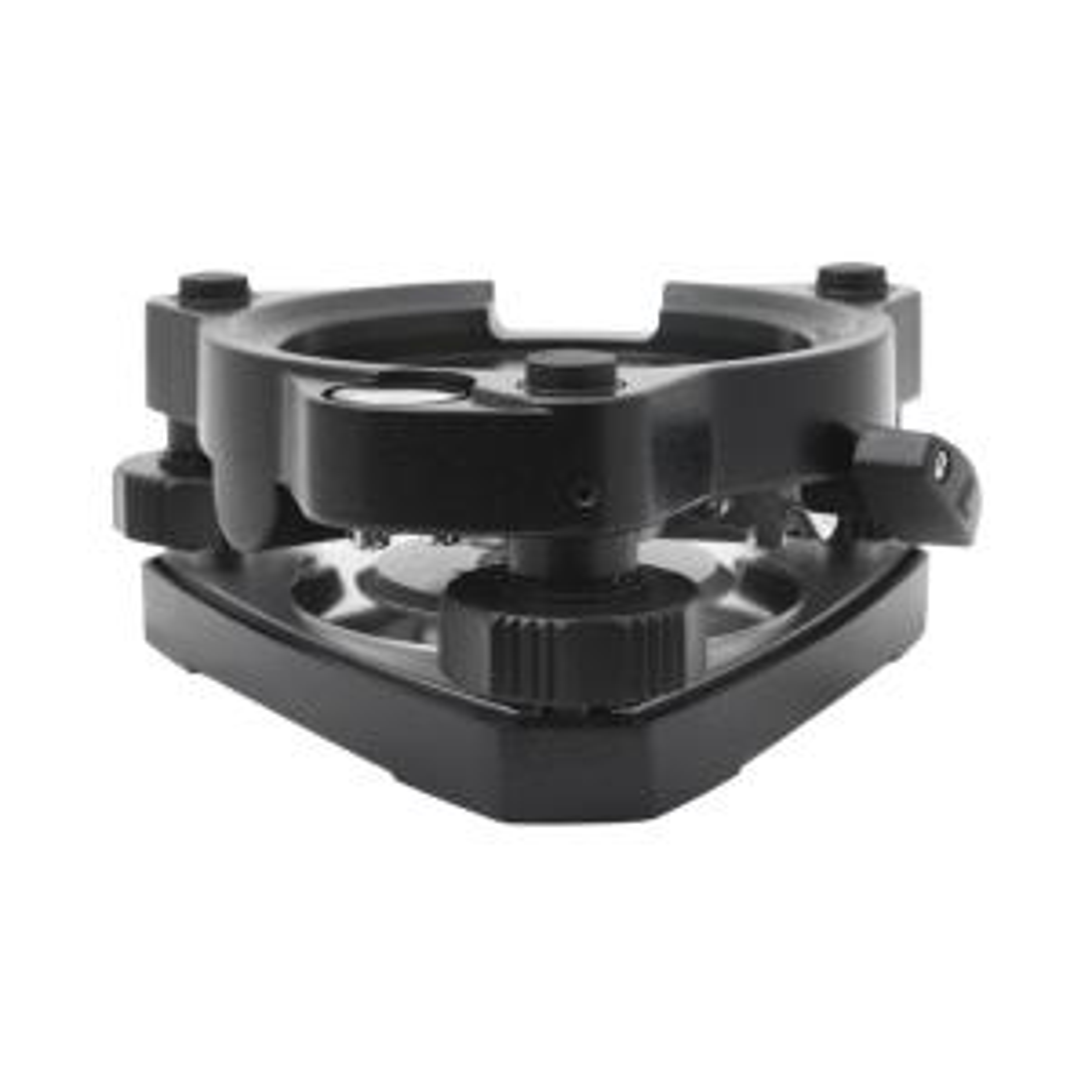 Black AdirPro Tribrach with Optical Plummet