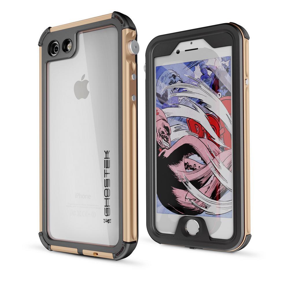 iPhone 7 Atomic 3 Waterproof Case, Gold