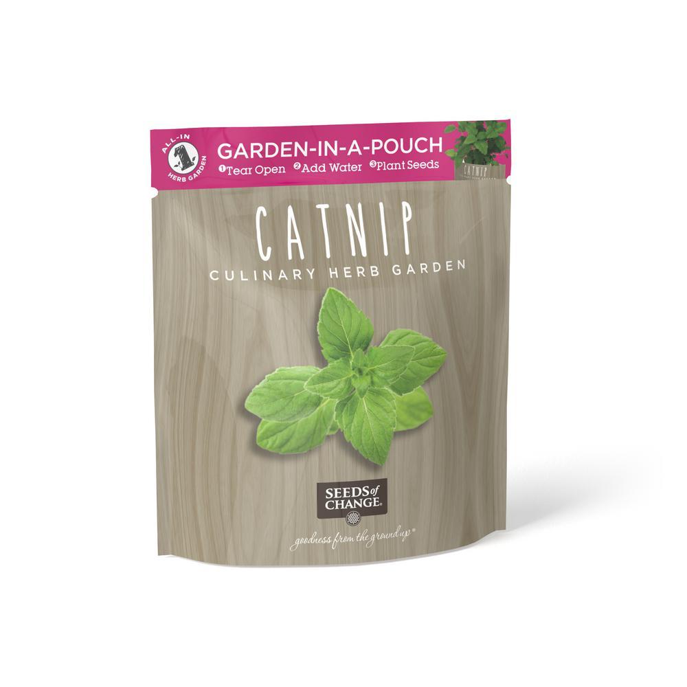 Organic Catnip Garden in a Pouch