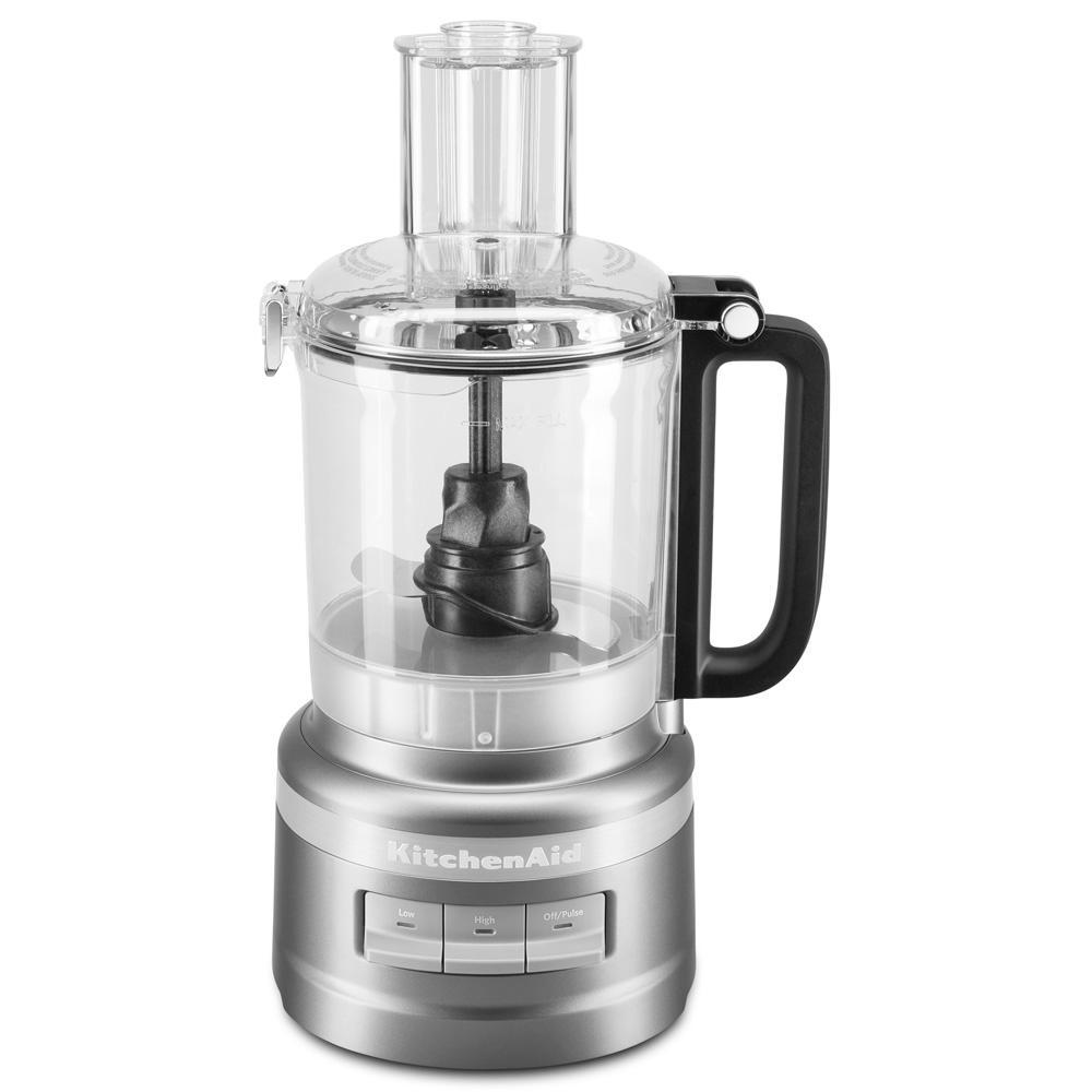 9-Cup Contour Silver Food Processor