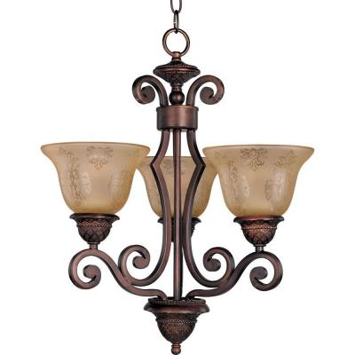 Symphony 3-Light Oil-Rubbed Bronze Mini Chandelier