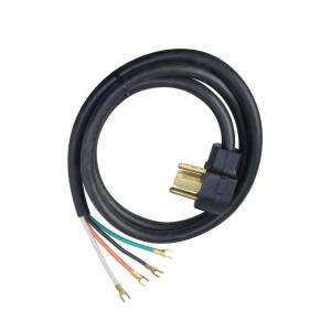 Peachy Ge 6 Ft 3 Prong 30 Amp Dryer Cord Wx09X10004Ds The Home Depot Wiring 101 Tzicihahutechinfo