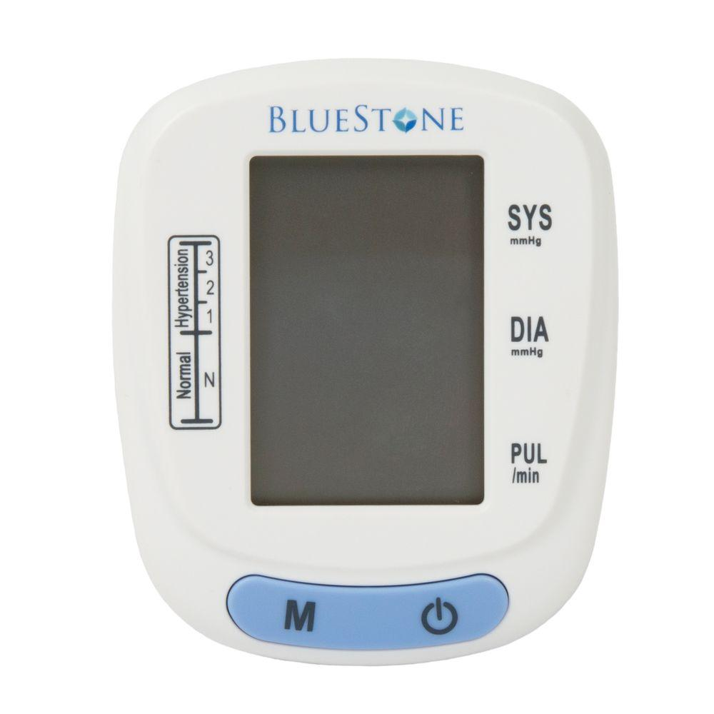 Bluestone 3 in. x 2.5 in. Automatic Wrist Blood Pressure ...