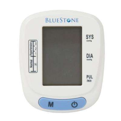 3 in. x 2.5 in. Automatic Wrist Blood Pressure Monitor with 120 Memory