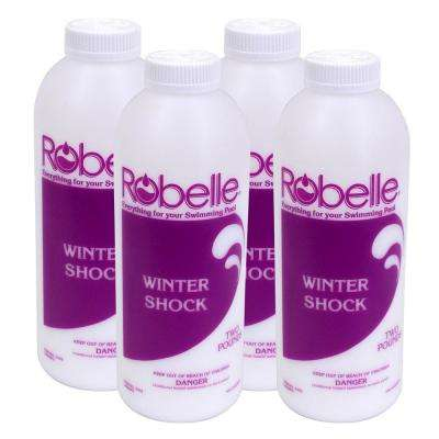 2 lb. Swimming Pool Shock Winter Pool Closing Shock 4-Pack