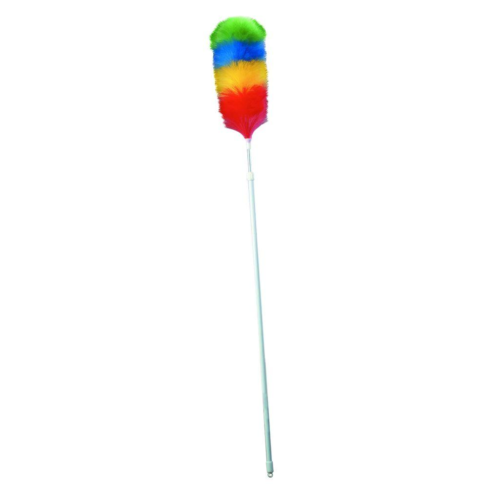 Carlisle 52 in. - 81 in. Telescoping Poly Wool Duster with Telescoping Handle (Case of 12)