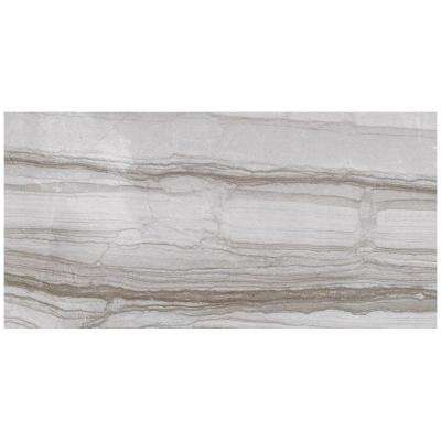 VitaElegante Grigio 12 in. x 24 in. Porcelain Floor and Wall Tile (15.6 sq. ft. / case)