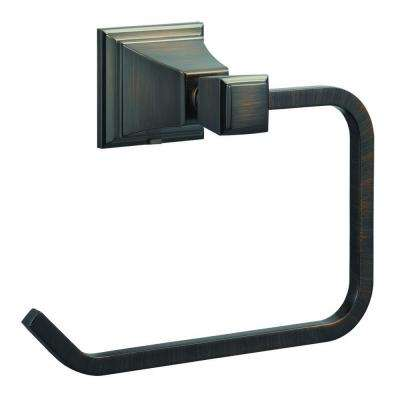 Torino Towel Ring in Brushed Bronze