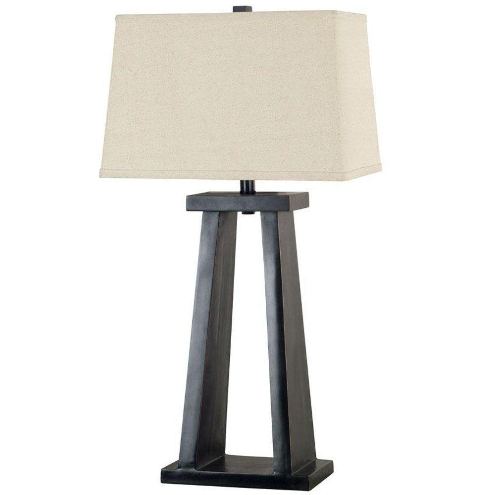 Home Decorators Collection Mino Taro 30 in. Table Lamp