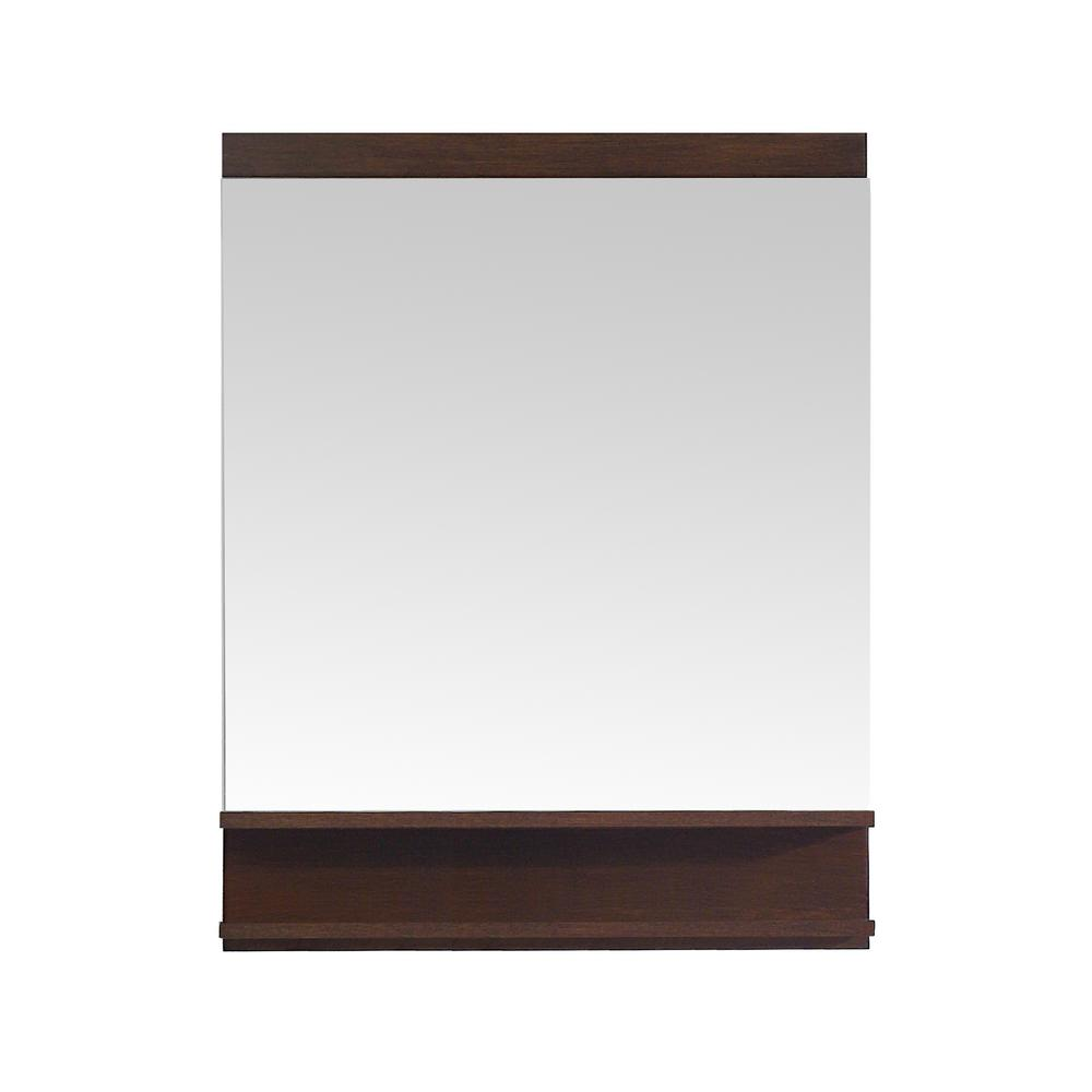 Cityloft 28 in. W x 31 in. H Framed Mirror in
