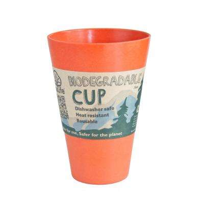 15 oz. Orange Bamboo Cup (6-Pack)