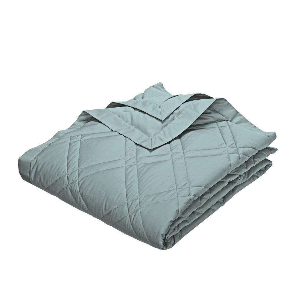 PrimaLoft Deluxe Cloud Blue Down Alternative Queen Classic Blanket