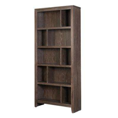Bonnie Washed Brown Large Bookcase