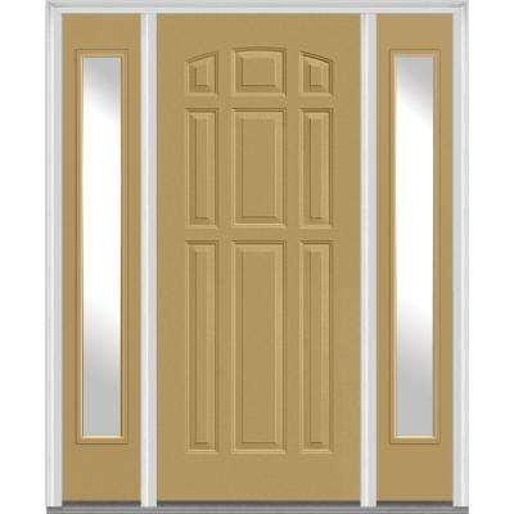 Side Lite - Light Brown - Composite - Doors With Glass - Fiberglass ...