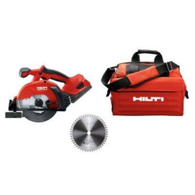 22-Volt SCM Advanced Compact Battery 6-1/2 in. Metal Cutting Circular Saw with Tool Bag, Blade and Charger