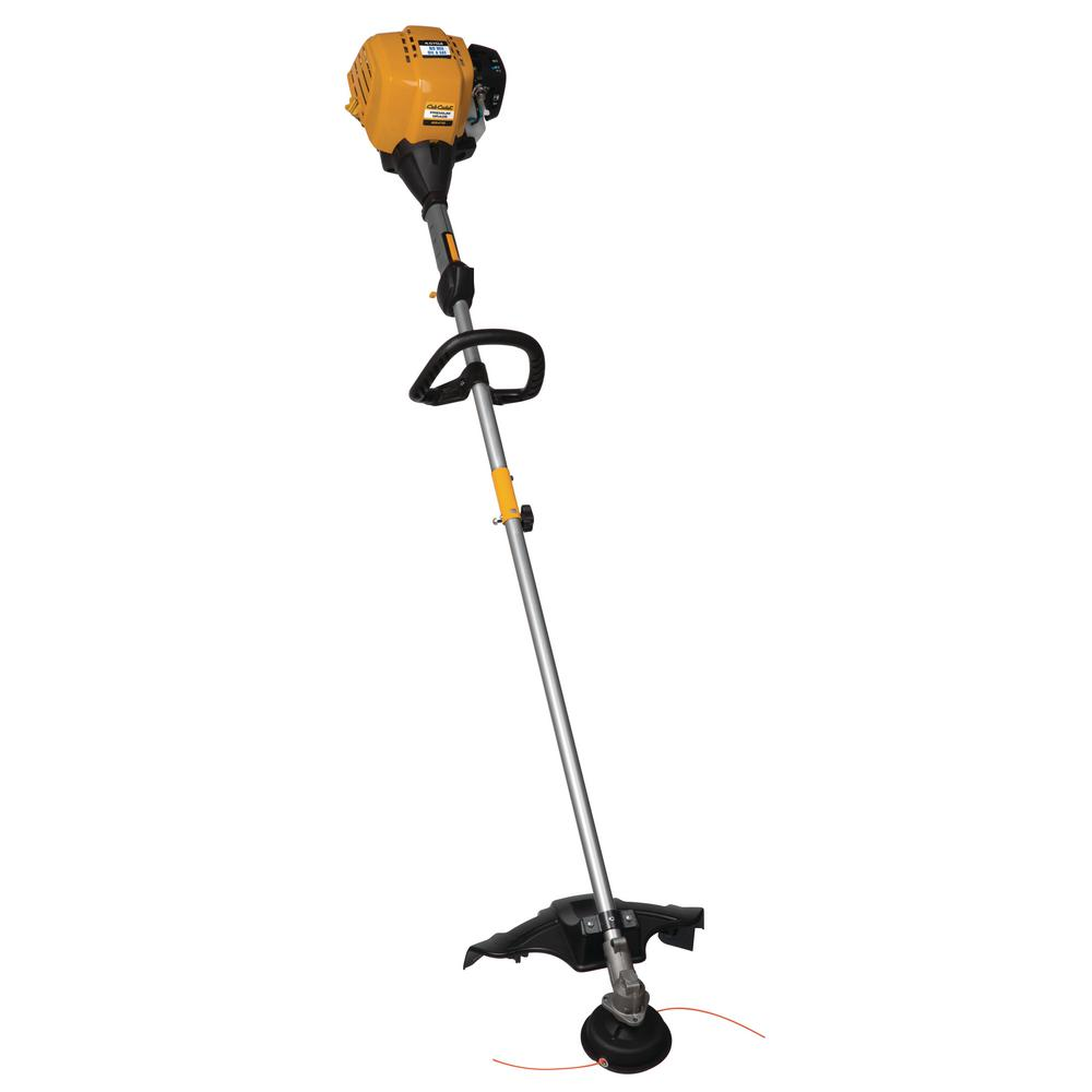 25 cc Gas 4-Cycle Straight Shaft Attachment Capable String Trimmer