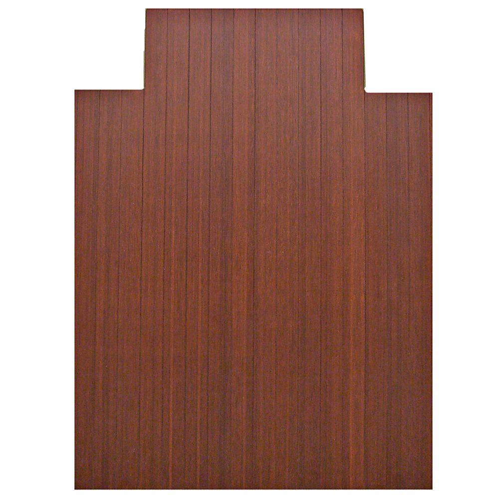 Standard 5 mm Dark Brown Mahogany 36 in. x 48 in.