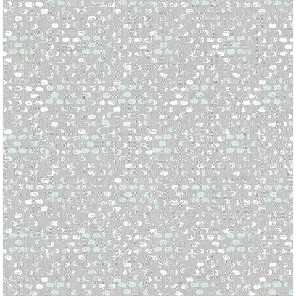 A-Street 56.4 sq. ft. Blissful Light Blue Harlequin Wallpaper 2793-24714