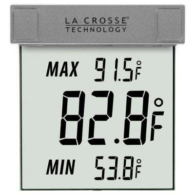 Digital Window Outdoor Thermometer with Minimum/Maximum